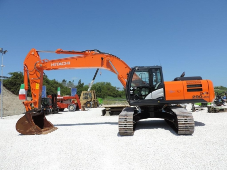 Hitachi ZX 290 forgókotró