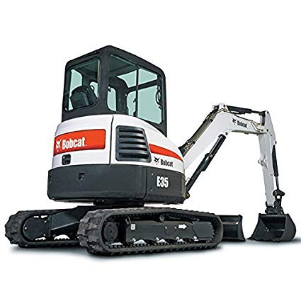 Bobcat E35 mini forgókotró