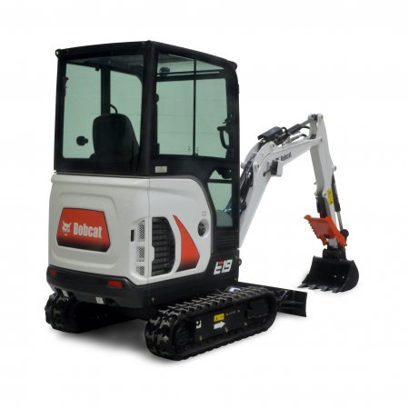 Bobcat E19 mini forgókotró